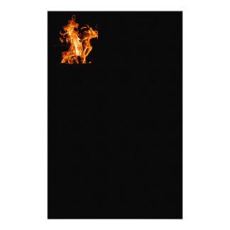 Bonfire Custom Stationery