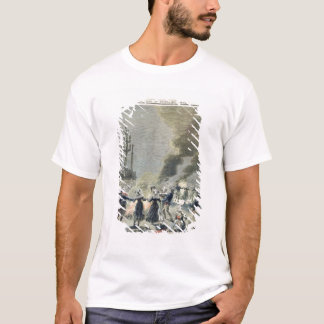 Bonfires lit to celebrate the summer solstice in T-Shirt