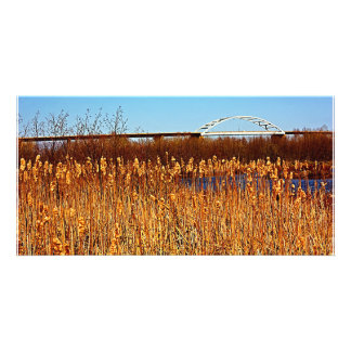 Bong Bridge from Grassy Point Photo Card Template