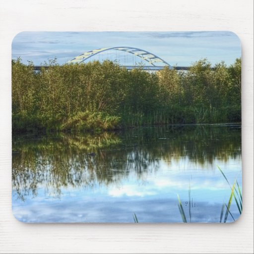Bong Bridge from Grassy Point Trail Mousepads
