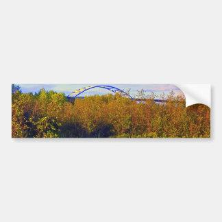 Bong Bridge from Wetlands Bumper Sticker