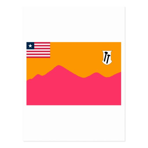 Bong County Flag Postcards