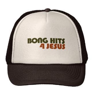 Bong Hits For Jesus Trucker Hat