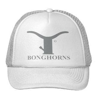 BONGHORNS TRUCKER HAT GRAY