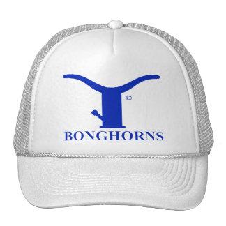 BONGHORNS TRUCKER HAT IN BLUE