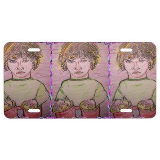 bongo boy license plate
