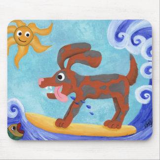 Bongo Catches a Wave Mouse Pad