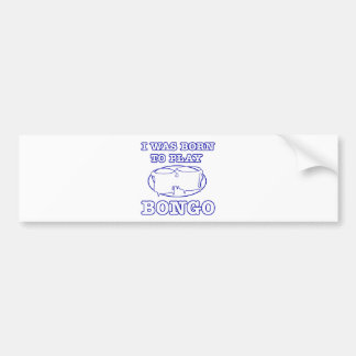 Bongo Designs Bumper Sticker