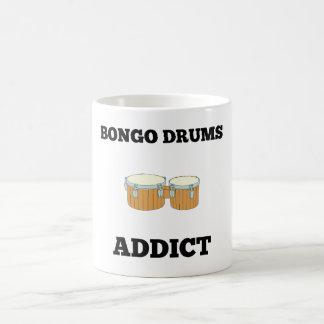 Bongo Drums Addict 11 Oz Magic Heat Color-Changing Coffee Mug