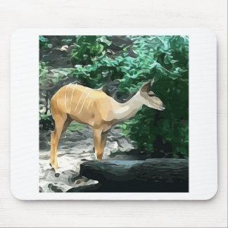 Bongo from Safari Mouse Pad