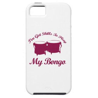 bongo musical designs iPhone SE/5/5s case