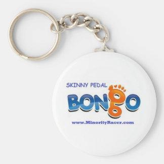 Bongo Skinny Pedal KeyChain