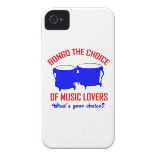 bongo the choice of music lovers iPhone 4 Case-Mate case