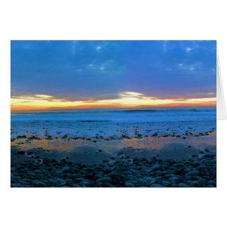 Bongo's Beach January 22, 2012 Card