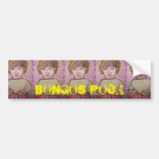 bongos rock car bumper sticker