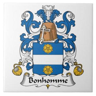 Bonhomme Family Crest Tile