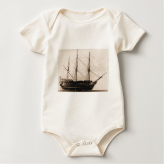 Bonhomme Richard model Baby Bodysuit