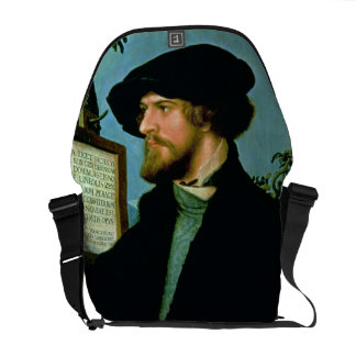 Bonifacio Amerbach, 1519 (aceite en madera de pino Bolsa De Mensajeria