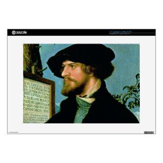 Bonifacio Amerbach, 1519 (aceite en madera de pino Calcomanías Para Portátiles
