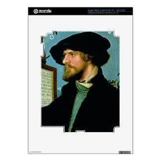Bonifacio Amerbach, 1519 (aceite en madera de pino Pegatina Skin Para iPad 3