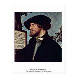 Bonifacio Amerbach de Hans Holbein el más joven Tarjetas Postales