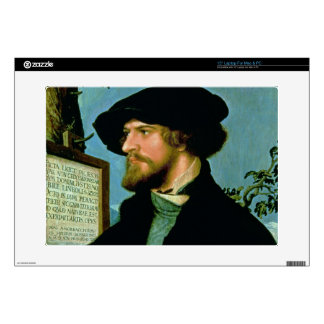 Bonifacius Amerbach, 1519 (oil on pinewood) Decal For Laptop