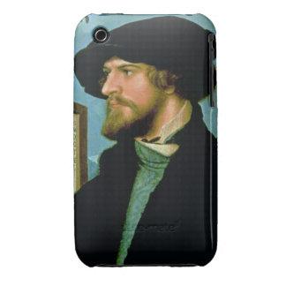 Bonifacius Amerbach, 1519 (oil on pinewood) iPhone 3 Case-Mate Case