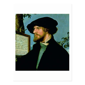 Bonifacius Amerbach, 1519 (oil on pinewood) Postcard