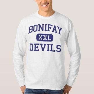 Bonifay Devils Middle School Bonifay Florida T-Shirt