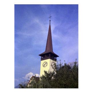 Bonigen parish Church, Interlaken Postcard