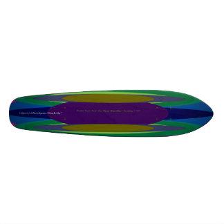Bonini Beach SurfAceStreet SheckShe*DeckShe #001C Skateboard Deck