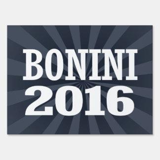 Bonini - Colin Bonini 2016 Señal