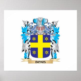 Bonis Coat of Arms Print