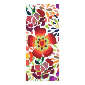 bonita floral del pintura anuncio personalizado
