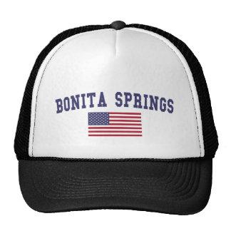 Bonita Springs US Flag Trucker Hat