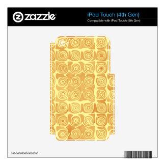 Bonito aclamado idea de la mueca iPod touch 4G skins