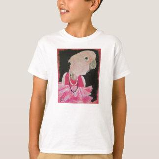Bonito de Ella en la camiseta rosada - modificada