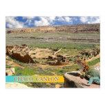 Bonito del pueblo, barranco de Chaco, New México Postales