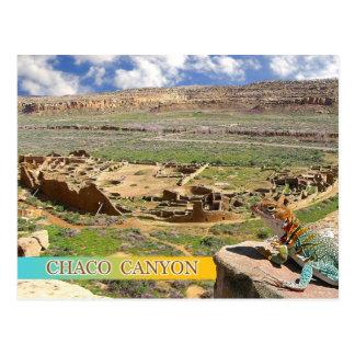 Bonito del pueblo, barranco de Chaco, New México Tarjetas Postales
