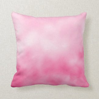 Bonito en almohada de tiro reversible rosada del t