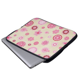 Bonito en bolso grande femenino rosado de la manga funda ordendadores