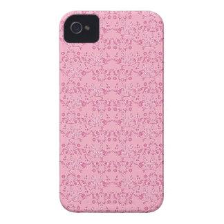 Bonito en caja intrépida rosada de Blackberry la Carcasa Para iPhone 4 De Case-Mate