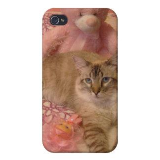 bonito en caja rosada del teléfono iPhone 4 carcasa