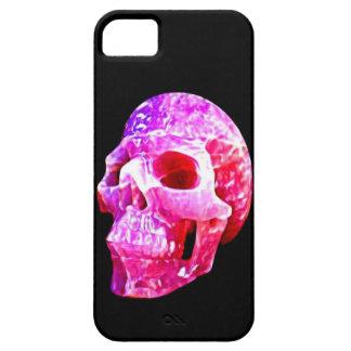 Bonito en caso rosado del iphone 5 del cráneo apen iPhone 5 Case-Mate carcasa