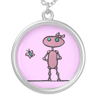 Bonito en collar rosado