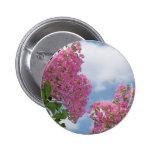 Bonito en el crespón Myrtle rosado Pins