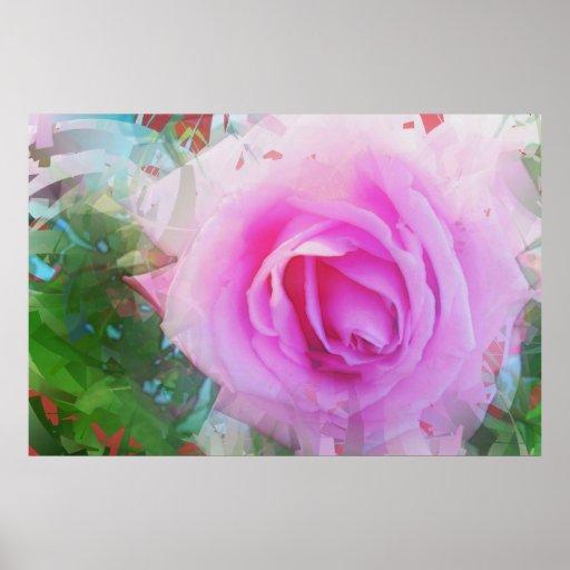 Bonito en el rosa 2 póster