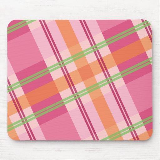 Bonito en la tela escocesa Mousepad