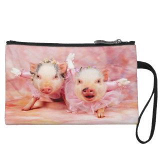 Bonito en mitón rosado de los cerdos