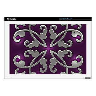 Bonito en púrpura skins para portátil